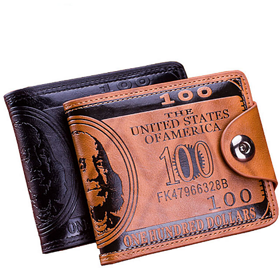 977c43245d42 Trending product! This item has been added to cart 17 times in the last 24  hours. Men Wallet short dollar price Leather Wallets Clutch money purse ...