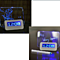 New Fashion Romantic LED Luminous Fluorescent Message Board Digital Alarm Clock Night light