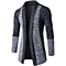 New Men 's Fashion Cardigan Sweatshirts Casual Slim Fit Cardigan Hoodies Cotton Stitching Jackets