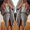 Draped Open Front Cardigan (S-3X)