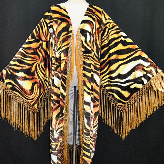 buy lrg xl xxl art deco mucha golden tiger vintage goddess. Black Bedroom Furniture Sets. Home Design Ideas