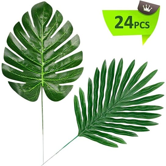 Buy Tropical Artificial Leaves Safari Party Decoration 24 Two Types Areca Monstera By Liping Lin On Opensky There are a multitude of types of tropical plants that blend nicely with palms or other trees and will add charm to almost any garden. tropical artificial leaves safari party decoration 24 two types areca monstera