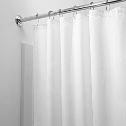 2-Pack: Heavy-Duty Magnetic Shower Curtain Liner