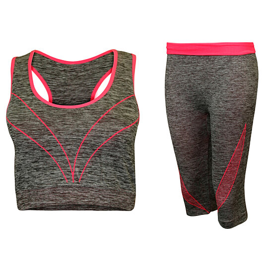 d844b20973d3c Buy 2-Piece Sports Bra & Capri Leggings Set, Multiple Colors by ...