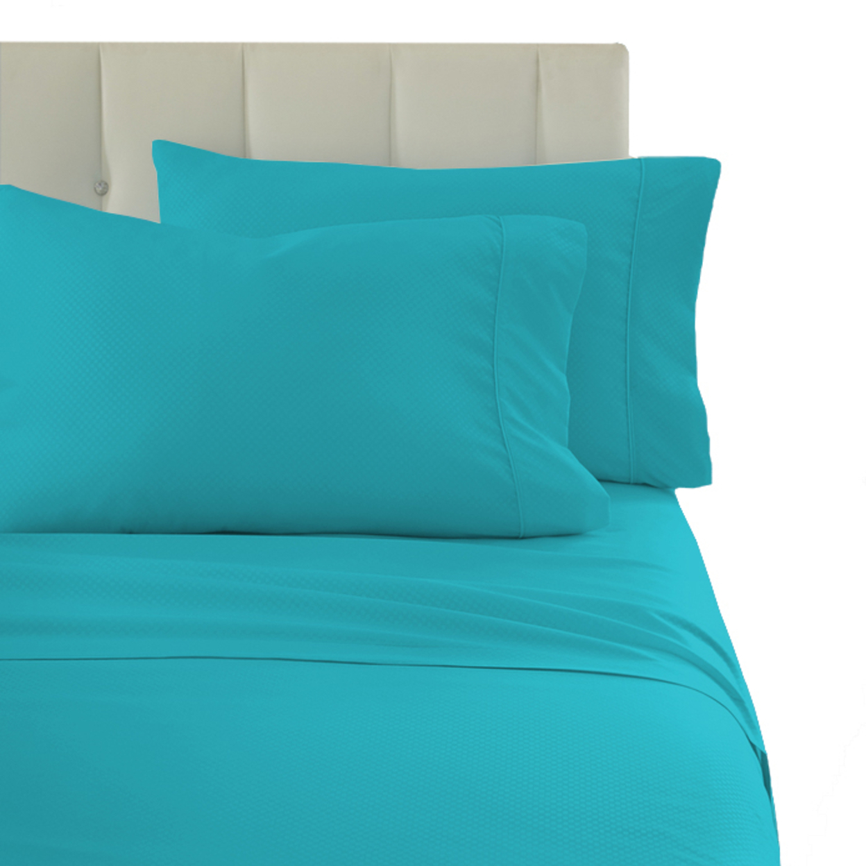 4 Piece Set: Premium Ultra-Soft Wrinkle Free Solid Bed Sheets – Twin, Lime