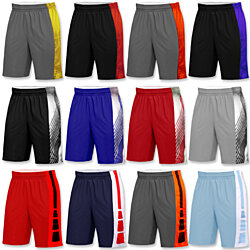 5-Pack: Men's Active Athletic Performance Shorts