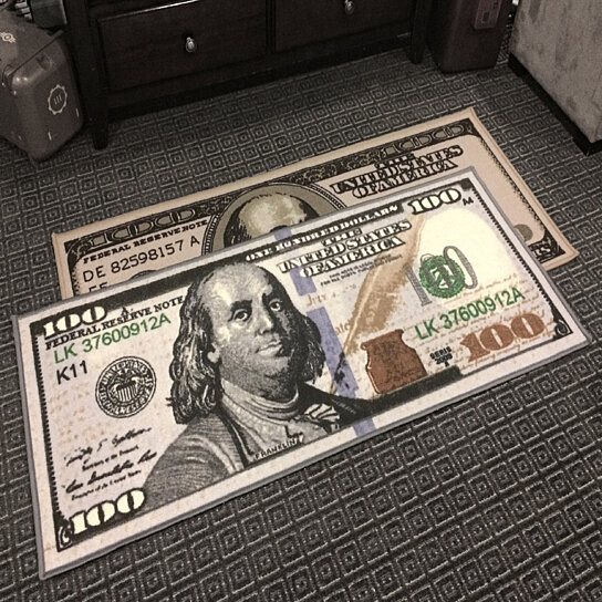 100 Dollar Bill Rug Rugs Ideas