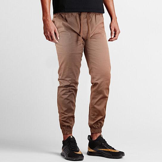 4566132bc9 Men's Slim-Fit 100% Cotton Twill Joggers