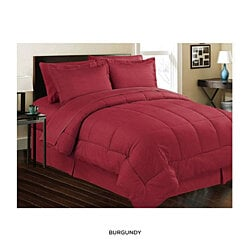 Premium Quality 8 Piece Down Alternative Comforter Bed Set