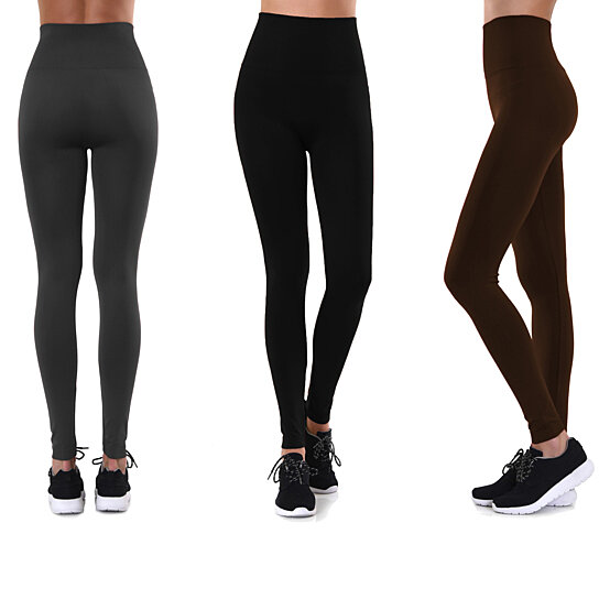 e357a1faba334 Buy High-Waist Fleece Lined Leggings, S-4x, Multiple Colors by ...