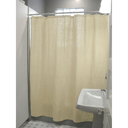 Buy Cotton Shower Curtain 7 Oz Duck Fabric Made In USA By Bean Products On OpenSky