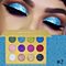 Glitters Single Eyeshadow Diamond Rainbow Make Up Cosmetic Eye shadow Magnet Palette