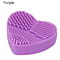 Heart Shape Make up Brushes Silica Cleaner