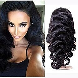 Virgin Remy Bodywave Lacefront Wig 18-20 inches long!!