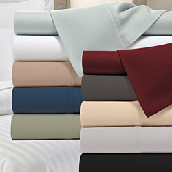 1800 Count Bamboo Blend Ultra Soft Solid Luxury Sheet Set - 6 Colors