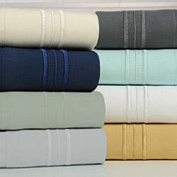 Bamboo 1800 Count 4 Piece Luxury Sheet Set - 8 Colors