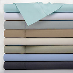 Bamboo Luxury 1800 Count 4 Piece Solid Sheet Set