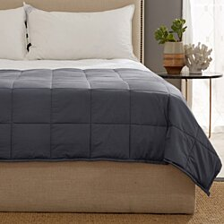 Kathy Ireland Home Weighted Blanket with Glass Beads