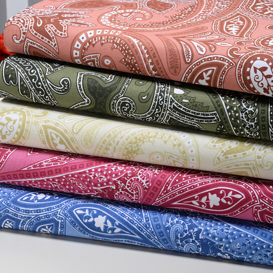 Buy Paisley Collection 500 Thread Count Printed Egyptian