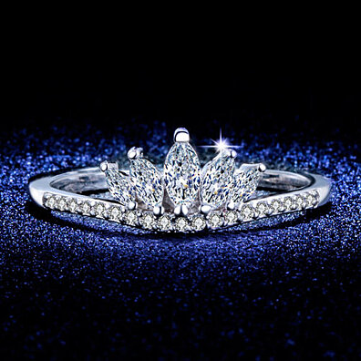 'Crown Jewel' Cubic Zirconia Ring