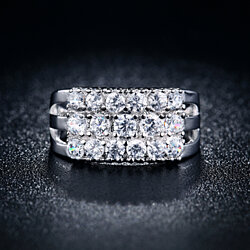 Luminous Layered 2 Carat Ring