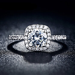 Luminous Vintage 2 Carat Ring