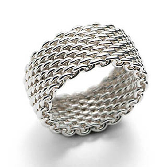 buy sterling silver mesh ring by benedicts on opensky
