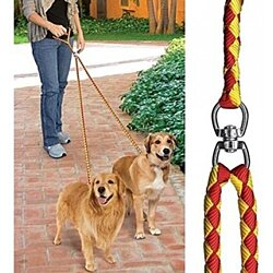 Daul Action No Tangle Doggie Leash