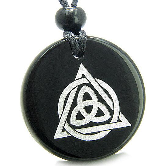Buy Amulet Celtic Triquetra Magic Triangular Circle Triple