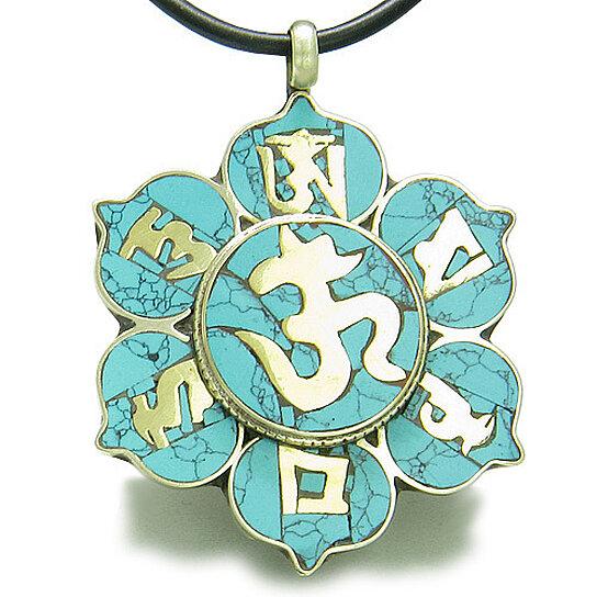 Buy Amulet Tibetan Mantra Ancient Om Mani Padme Hum