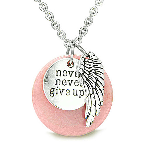 Buy Angel Wing And Inspirational Quot Never Never Give Up