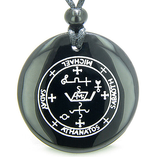 Buy Sigil Of The Archangel Michael Magical Amulet Black