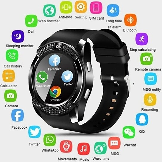 3229f6a90e0 ElectronicsWearable TechSmart Watches. Trending product! This item has been  added to cart 80 times in the last 24 hours