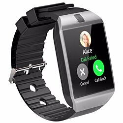 Bluetooth SmartWatch With Camera & Fitness Tracker, Multiple Colors