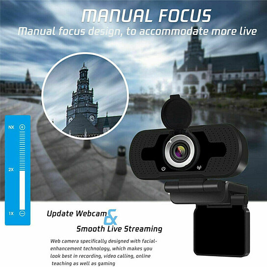 Buy USB 12 Megapixel Camera Web Cam W/ Mic Night Vision