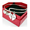 Women Silver Plated Bangle Broken Heart Best Friends Charm Bracelet