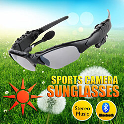 Wireless Bluetooth Sun Glasses Headset Headphones