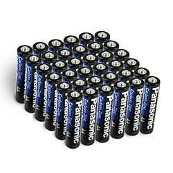 24 or 48 Pack Panasonic AAA/AA Carbon Zinc Batteries