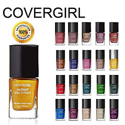 5 Pack: CoverGirl Outlast Stay Brilliant Nail Gloss Color Polish