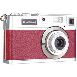 "Polaroid Retro 18MP with 2.4"" Preview Screen - Red"