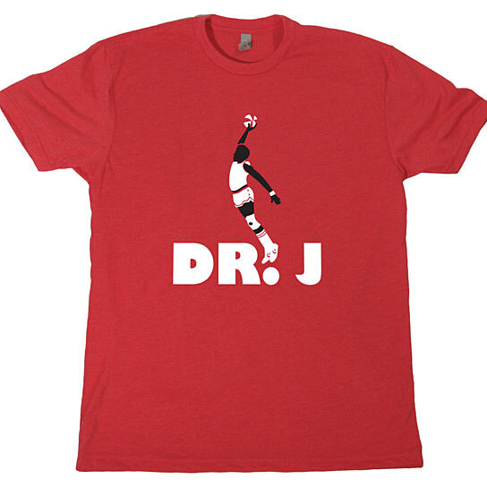Buy dr j dunk mens t shirt vintage jersey retro 70s 80s for Retro basketball t shirts