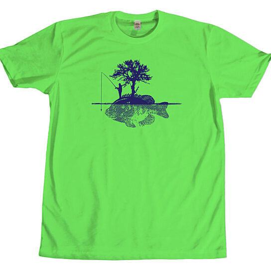 Buy fish island mens t shirt fishing fishery hunting for Fishing t shirts brands
