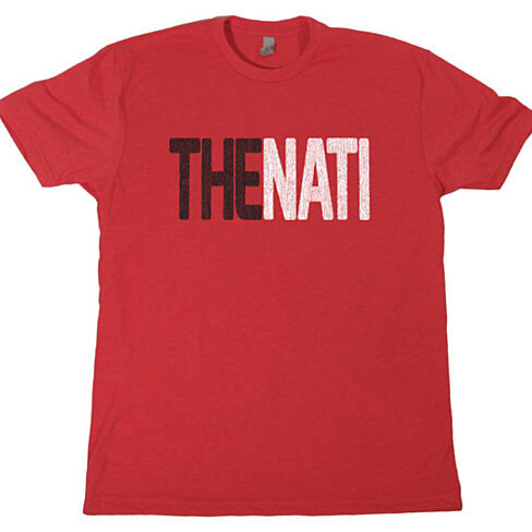 Buy the nati mens t shirt cincinnati football baseball for Vintage bengals t shirts