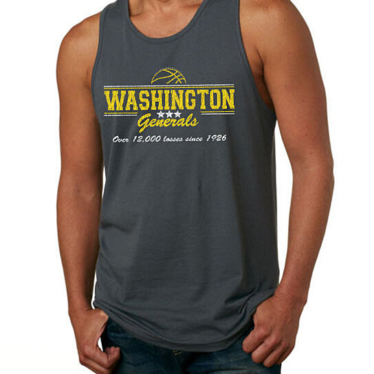 Buy Washington Generals Tank Top Funny Losers Basketball