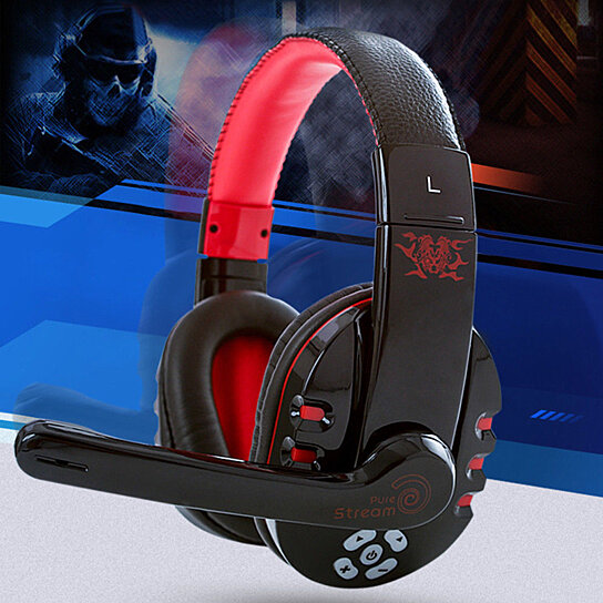 Buy Hommoo Bluetooth Headphones Best Pc Gamer Over Ear Wireless Headphones With Mic Foldable Headband By Bigbababa On Opensky