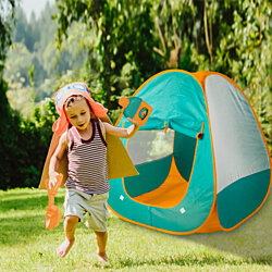 Pop Up Tent for Kids, Camping Tent Set for Kids, Birthday Gift Children Pop Up Tent, Outdoor Indoor Portable Game Toys Play House