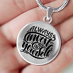 Always Invest In Yourself Necklace