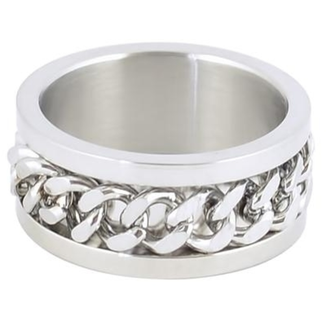 Steel Double Chain Spinner Ring