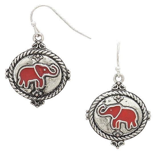 Delta Sigma Theta Earrings: Buy Delta Sigma Theta Women Fashion Silver Finish Metal