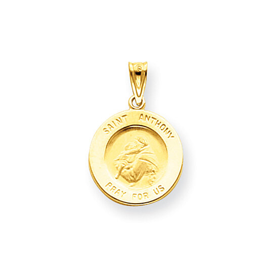 Weight Lifting Equipment In Honolulu: Buy 14 Karat Gold Saint Anthony Medal Pendant By Black Bow